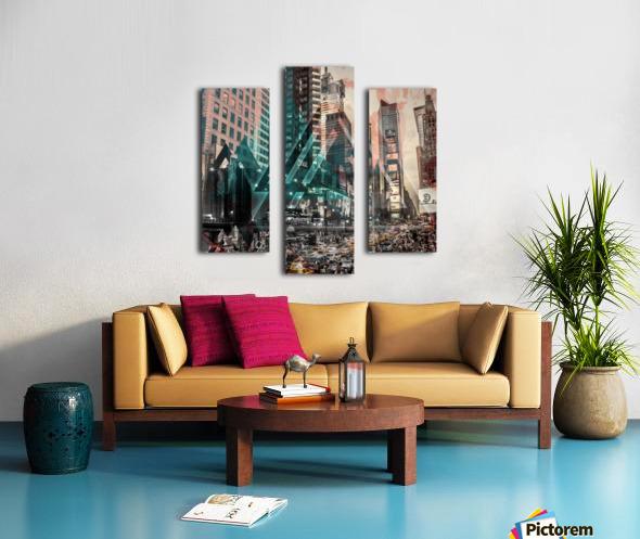 New York City Geometric Mix No. 4 Canvas print