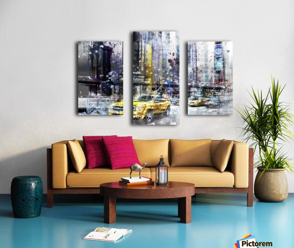 City-Art NYC Collage Canvas print