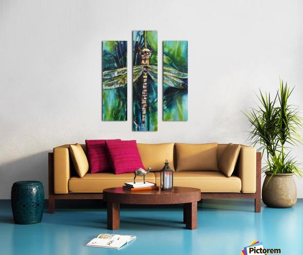 Louisiana Dragonfly Canvas print