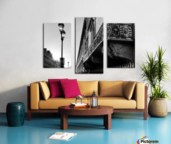Rivoli balcony Impression sur toile