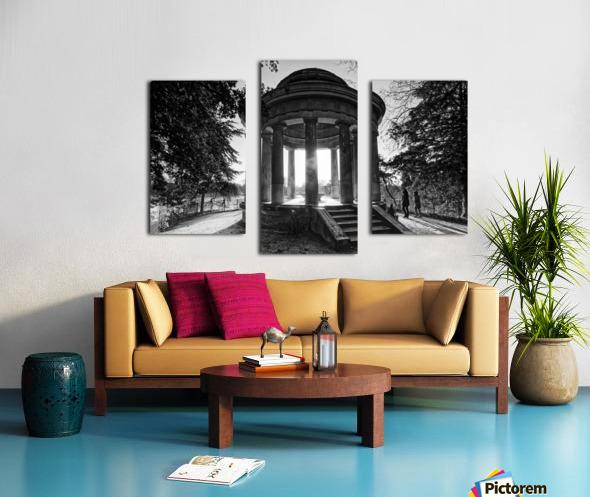 Temple of Love Impression sur toile