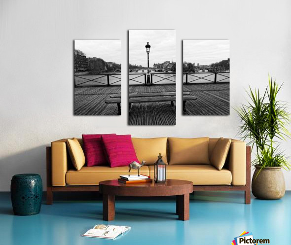 Wooden landscape Impression sur toile