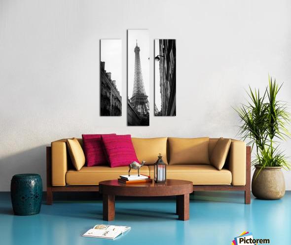 Under the Eiffel tower  Impression sur toile