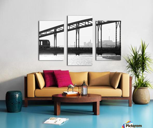 Austerlitz viaduct Impression sur toile