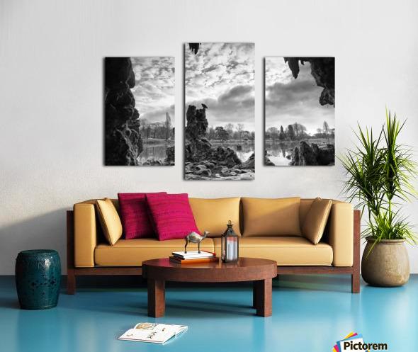 Daumesnil lake Impression sur toile