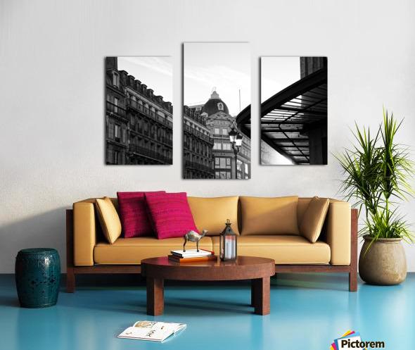 Rivoli street Impression sur toile