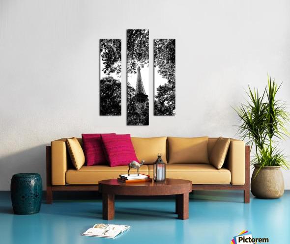 Metal Leaves  Impression sur toile