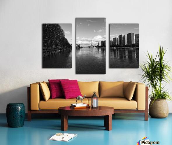 Flood reflection Impression sur toile