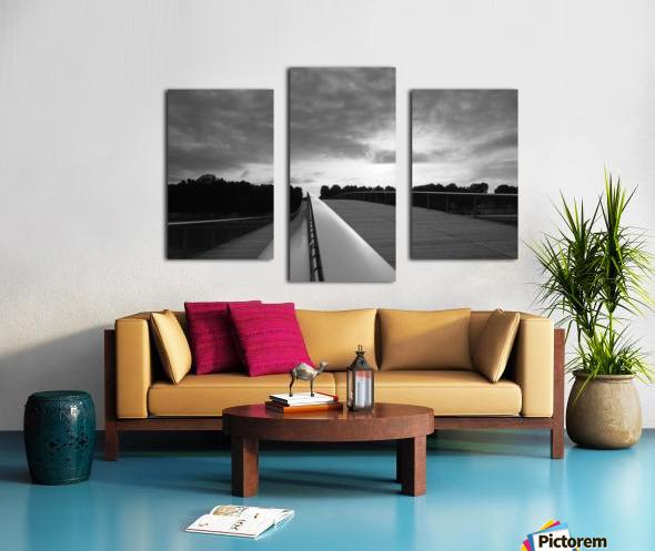Follow the light Impression sur toile