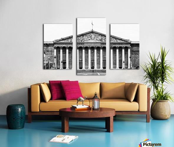Bourbon palace Impression sur toile