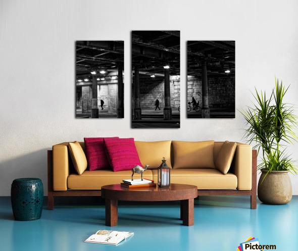 Brancion tunnel Impression sur toile