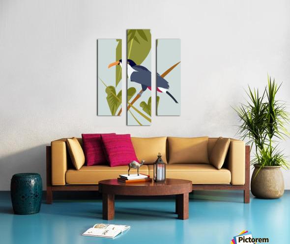 Toucanish Canvas print