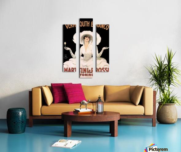 Leonetto Cappiello Cognac Monnet Vintage Ad Art Print Poster Canvas print