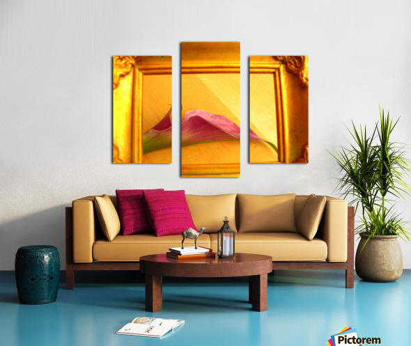 Gilded Lilly  Canvas print