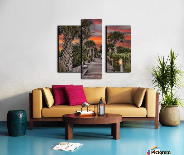 Anna Marie Sunset Canvas print