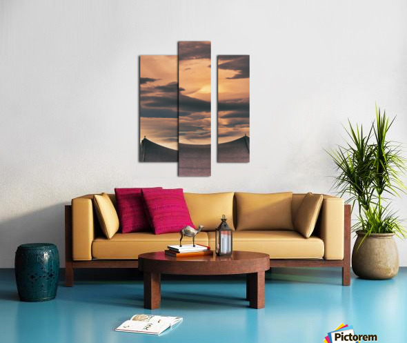 One On Each Point Canvas print