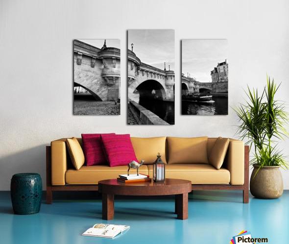 Pont Neuf Impression sur toile