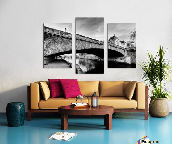 Petit pont  Impression sur toile