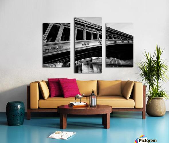 Pont au Double Impression sur toile