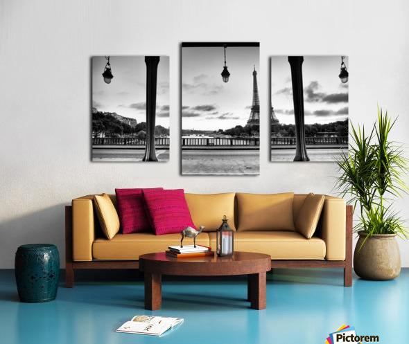 Bir-Hakeim  bridge                                  Impression sur toile