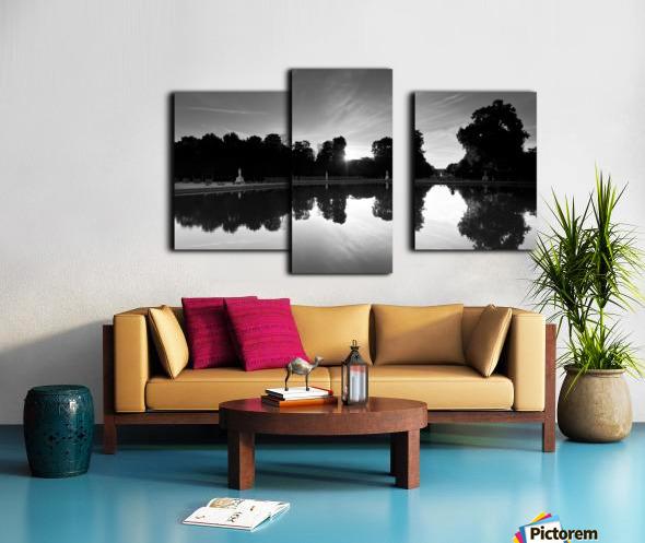 Tuileries reflection Impression sur toile