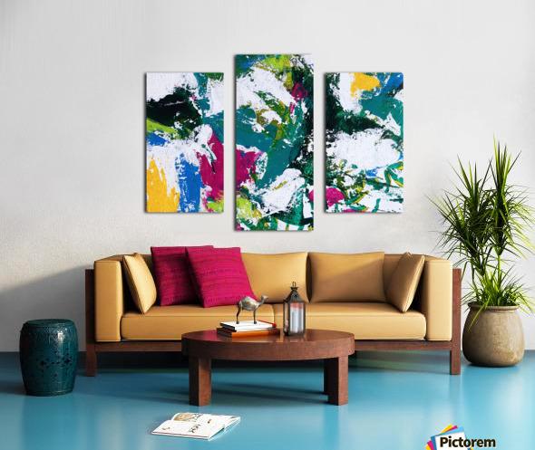 Tropical - Horizontal Canvas print