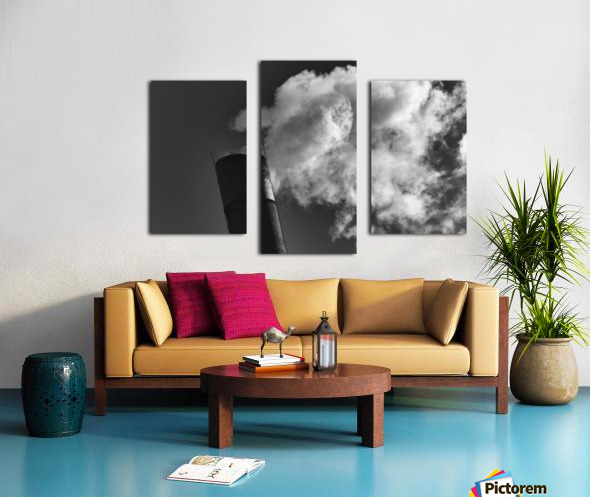 SMOKESTACK NUMBER TEN Canvas print