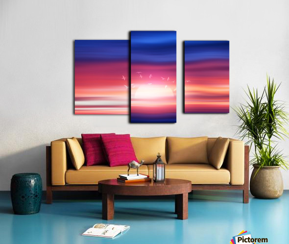 Abstract Movement XVII Canvas print