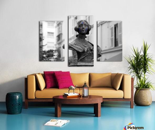 French colors Impression sur toile