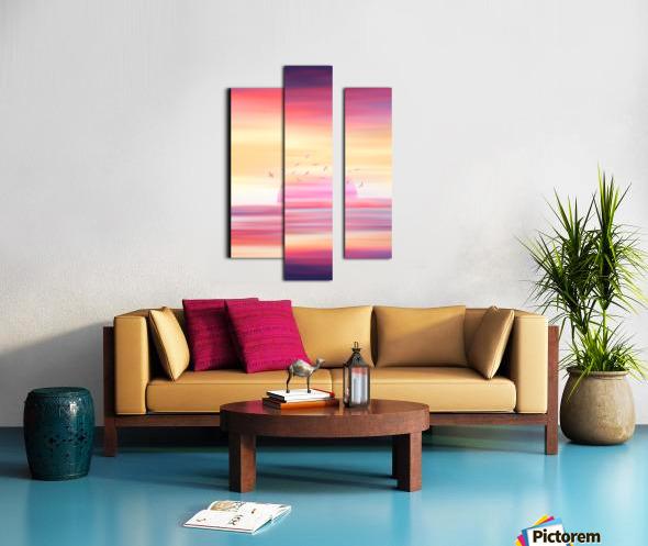 Abstract Movement XIX Canvas print