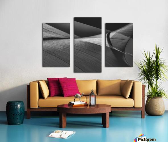 Abstract Sailcloth 15 Canvas print