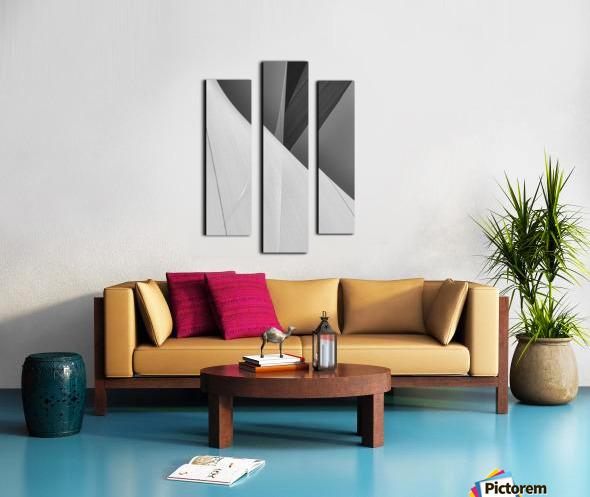 Abstract Sailcloth 2 Canvas print