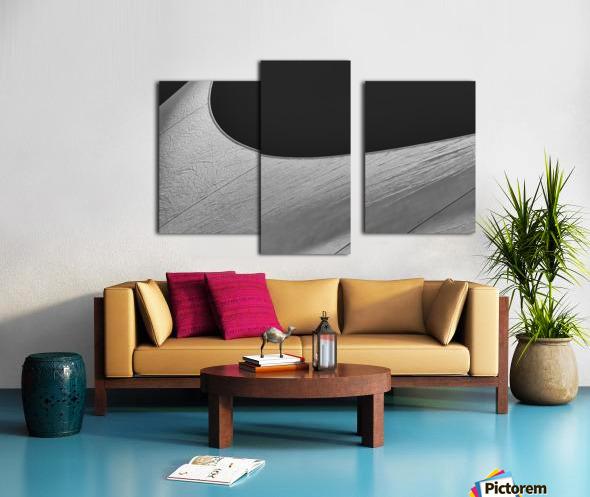 Abstract Sailcloth 19 Canvas print