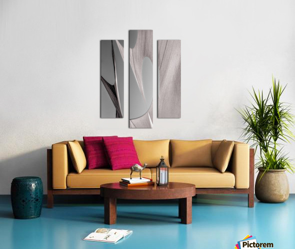 Abstract Sailcloth 20 Canvas print