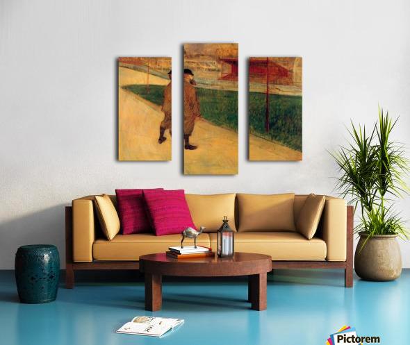 Tristan Bernard by Toulouse-Lautrec Canvas print