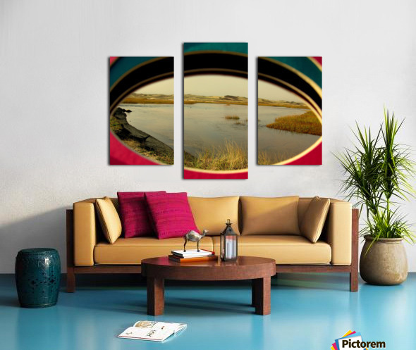 Eyeing the Cape Canvas print