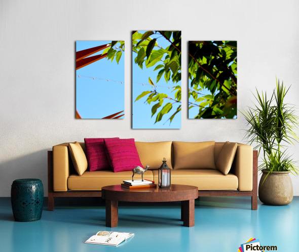 Light Up Canvas print