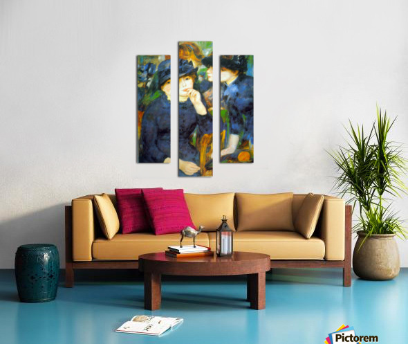 Two Girls by Renoir Canvas print