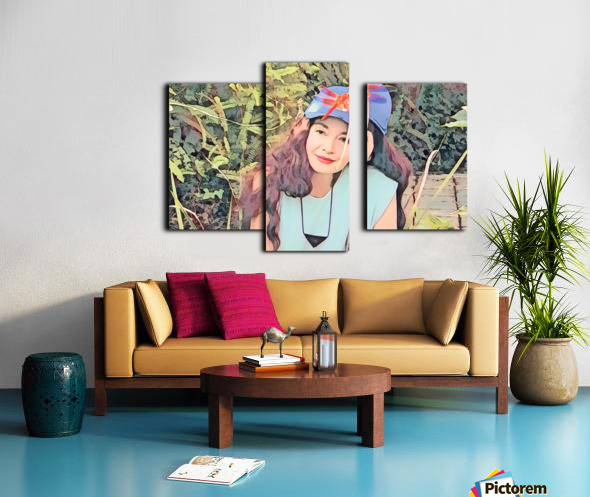 YOU ARE MY JEWEL -Art-Photo  2-5 Canvas print