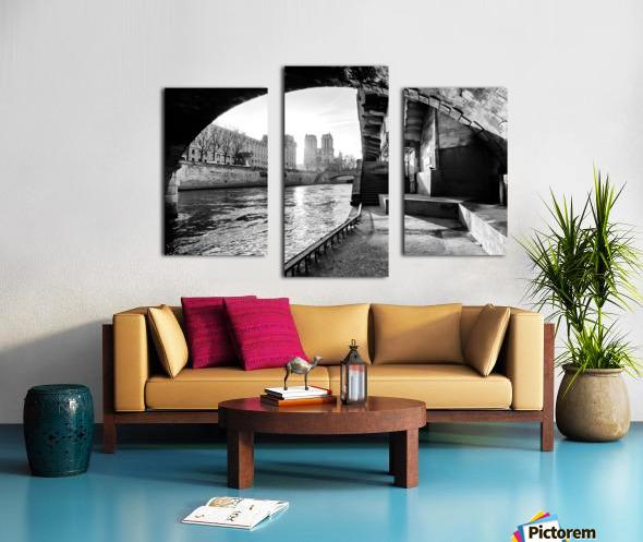 Under the bridge Impression sur toile