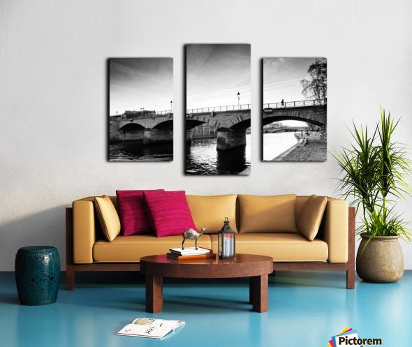 Archeveche bridge Impression sur toile