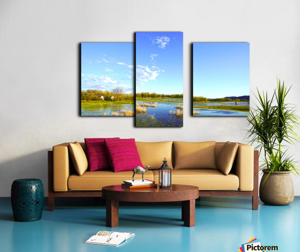 Beautiful Day at the Estuary 2 Canvas print