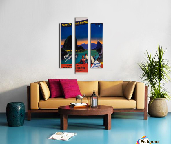 Rio is calling original poster Canvas print