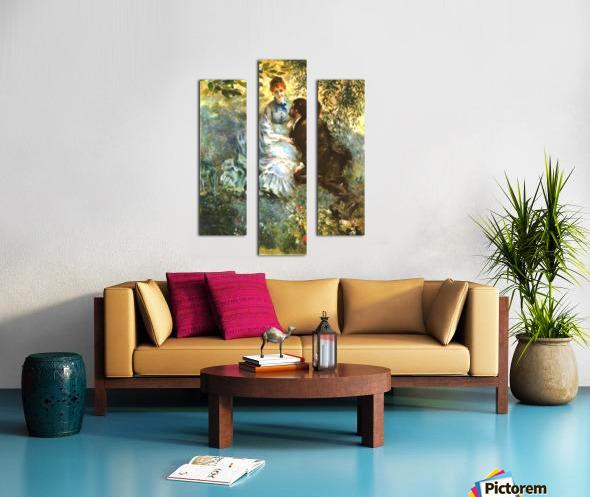 Twosome Canvas print
