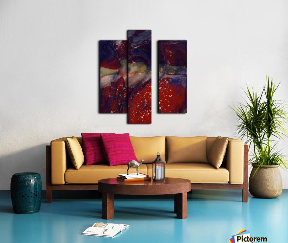 The Universe is Conscious  Canvas print