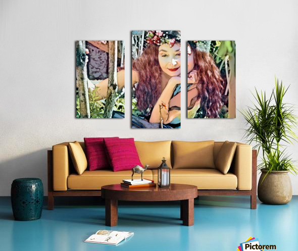 A TINY BEING WITH A BIG MISSION  Photo - Art Collection  1-6 Canvas print