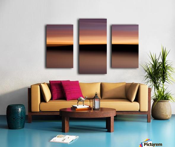 Sunset Motion Canvas print