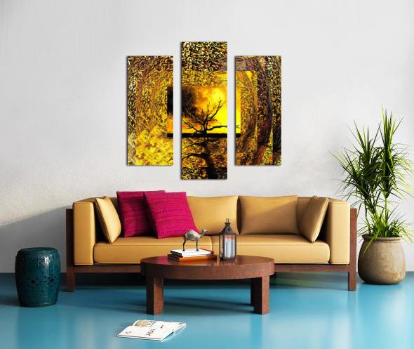 Tree Layers 7 Canvas print