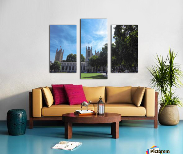 Snapshot in Time Quintessential London 5 of 5 Canvas print