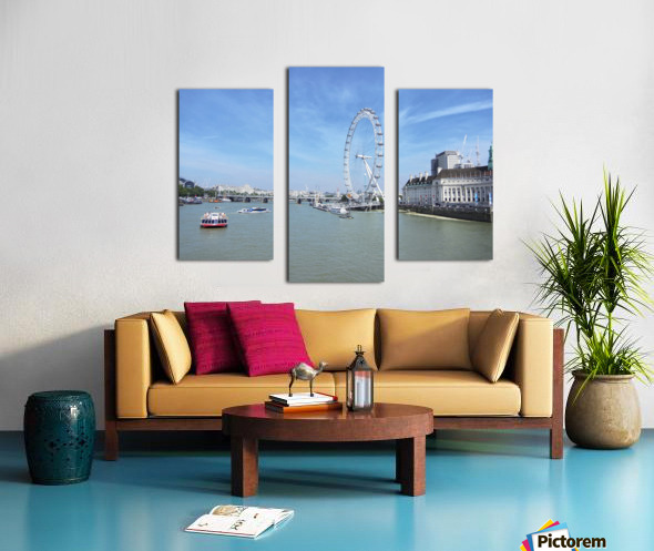 Snapshot in Time Quintessential London 4 of 5 Canvas print